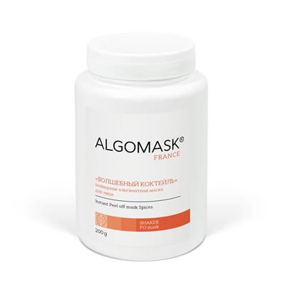 «ВОЛШЕБНЫЙ КОКТЕЙЛЬ» шейкерная альгинатная маска для лица
