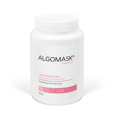 С ВИТАМИНАМИ альгинатная маска для лица