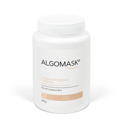 СТИМУЛИРУЮЩАЯ С РИСОМ альгинатная маска для лица