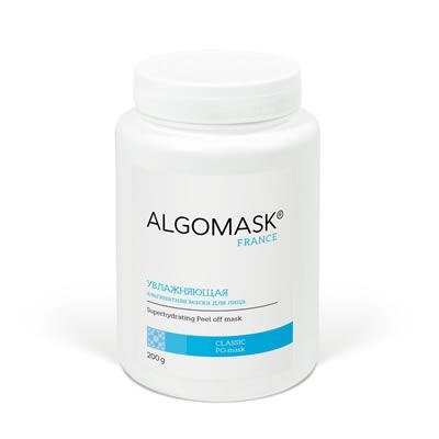 УВЛАЖНЯЮЩАЯ альгинатная маска для лица