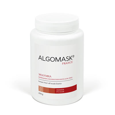 ЭКЗОТИКА шейкерная альгинатная маска для лица