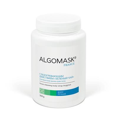 С РАЗОГРЕВАЮЩИМ ДЕЙСТВИЕМ «ЗЕЛЕНЫЙ ЧАЙ» альгинатная маска для тела