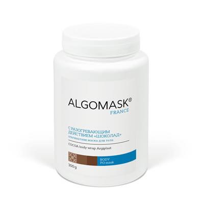 С РАЗОГРЕВАЮЩИМ ДЕЙСТВИЕМ «ШОКОЛАД» альгинатная маска для тела